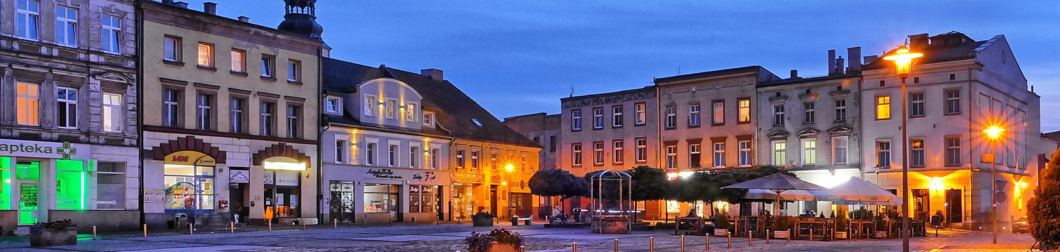 Zdjęcie starego rynku w Mysłowicach
