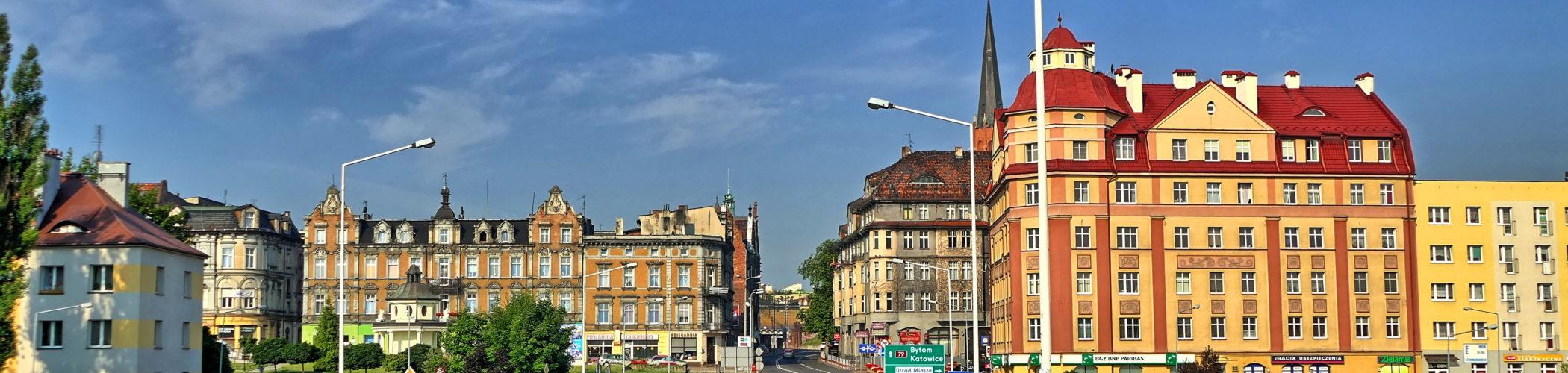 Zdjęcie ul. Krakowskiej w Mysłowicach