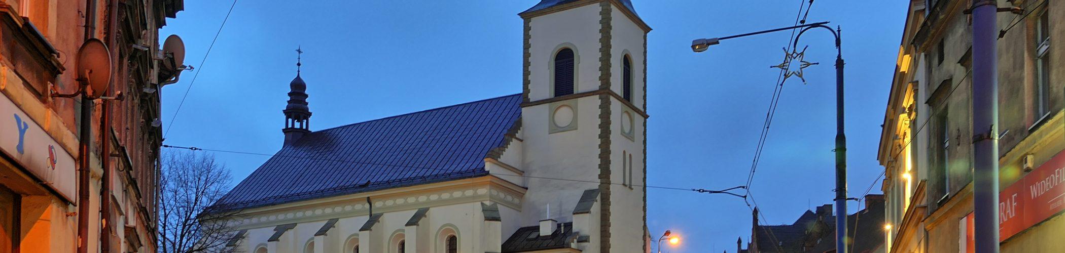 Zdjęcie kościoła Mariackiego w Mysłowicach